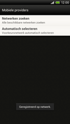 HTC S720e One X - Netwerk - Handmatig netwerk selecteren - Stap 13