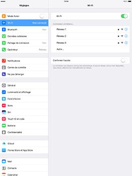 Apple iPad Pro 12.9 (1st gen) - iOS 10 - WiFi et Bluetooth - Configuration manuelle - Étape 5