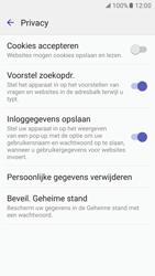 Samsung Galaxy S7 - Privacy - Privacy instellingen van de browser aanpassen - Stap 10