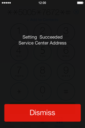 Apple iPhone 4 S iOS 7 - SMS - Manual configuration - Step 7