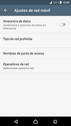 Sony Xperia XZ - Android Nougat - Mensajería - Configurar el equipo para mensajes multimedia - Paso 6