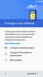 Samsung Galaxy S7 Edge - Android Nougat - Primeiros passos - Como ligar o telemóvel pela primeira vez -  13
