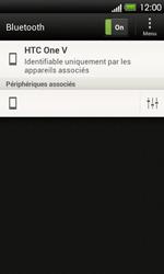 HTC T320e One V - Bluetooth - Jumeler avec un appareil - Étape 9