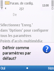 Nokia C5-00 - MMS - Configuration automatique - Étape 5
