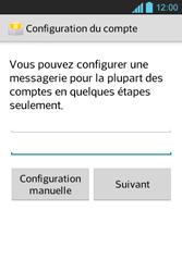 LG E610 Optimus L5 - E-mail - Configuration manuelle - Étape 7
