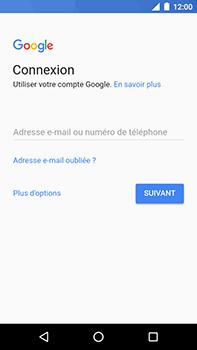 Motorola Moto E4 Plus - Applications - Créer un compte - Étape 4