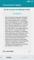 LG K4 - Primeiros passos - Como ligar o telemóvel pela primeira vez -  11