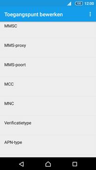 Sony Xperia Z5 Premium (E6853) - Internet - Handmatig instellen - Stap 13