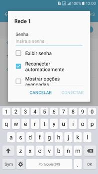 Samsung Galaxy On 7 - Wi-Fi - Como configurar uma rede wi fi - Etapa 7