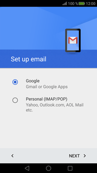 Huawei Mate S - E-mail - Manual configuration (gmail) - Step 8