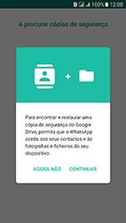 Samsung Galaxy J5 (2016) DualSim (J510) - Aplicações - Como configurar o WhatsApp -  10