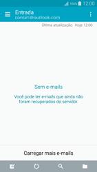 Samsung Galaxy A5 - Email - Como configurar seu celular para receber e enviar e-mails - Etapa 11