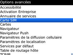 BlackBerry curve 3G - Sécuriser votre mobile - Personnaliser le code PIN de votre carte SIM - Étape 5