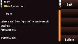 Nokia N97 Mini - Internet - Automatic configuration - Step 4