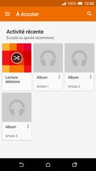HTC One A9 - Photos, vidéos, musique - Ecouter de la musique - Étape 5