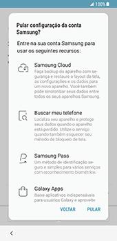 Samsung Galaxy S8 - Primeiros passos - Como ativar seu aparelho - Etapa 14