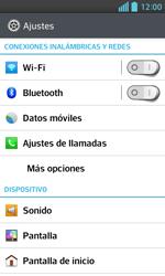 LG Optimus L5 II - Mensajería - Configurar el equipo para mensajes multimedia - Paso 4