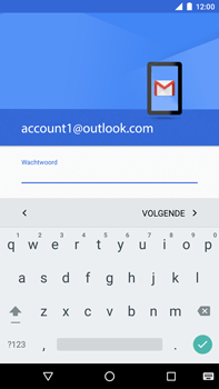 Huawei Google Nexus 6P - E-mail - handmatig instellen (outlook) - Stap 12