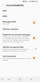 Samsung Galaxy A8 (2018) - SMS - Configuration manuelle - Étape 7