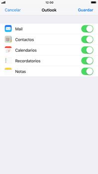 Apple iPhone 7 Plus iOS 11 - E-mail - Configurar Outlook.com - Paso 9