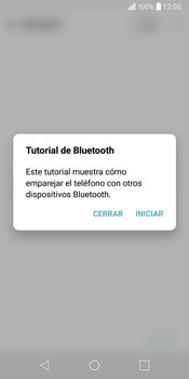 LG Q6 - Bluetooth - Conectar dispositivos a través de Bluetooth - Paso 4