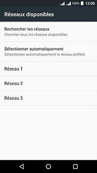 Acer Liquid Zest 4G Plus Double SIM - Réseau - Sélection manuelle du réseau - Étape 9