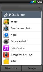 LG P970 Optimus Black - E-mail - envoyer un e-mail - Étape 8