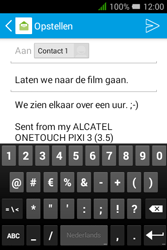 "Alcatel Pixi 3 - 3.5"" - E-mail - e-mail versturen - Stap 9"