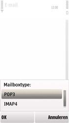 Nokia 5230 - E-mail - handmatig instellen - Stap 13