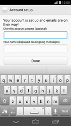 Huawei Ascend P7 - Email - Manual configuration POP3 with SMTP verification - Step 20