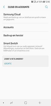 Samsung Galaxy A6 - Data - maak een back-up met je account - Stap 5
