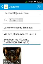 "Alcatel Pixi 3 - 3.5"" - E-mail - e-mail versturen - Stap 16"