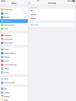 Apple iPad Pro 12.9 (1st gen) - iOS 10 - Internet - Manual configuration - Step 8