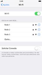 Apple iPhone 7 - iOS 12 - Wi-Fi - Como configurar uma rede wi fi - Etapa 5