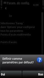 Nokia X6-00 - MMS - configuration automatique - Étape 7