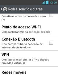 LG E430 Optimus L3 II - Internet (APN) - Como configurar a internet do seu aparelho (APN Nextel) - Etapa 5