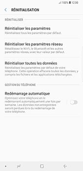 Samsung Galaxy Note 9 - Aller plus loin - Restaurer les paramètres d'usines - Étape 6