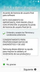 Samsung Galaxy A3 - Primeros pasos - Activar el equipo - Paso 7