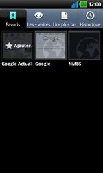 LG P920 Optimus 3D Speed - Internet - Navigation sur internet - Étape 12
