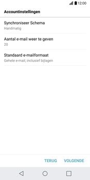 LG G6 (LG-H870) - E-mail - Handmatig instellen - Stap 20