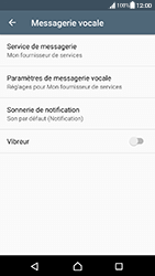 Sony Xperia XA - Android Nougat - Messagerie vocale - configuration manuelle - Étape 7