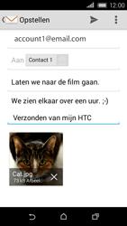 HTC Desire 320 - E-mail - E-mails verzenden - Stap 18