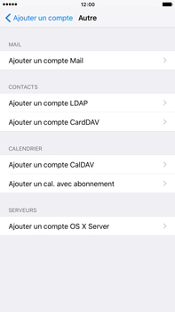 Apple iPhone 6s Plus - E-mail - Configuration manuelle - Étape 6