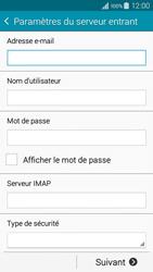 Samsung A300FU Galaxy A3 - E-mail - Configuration manuelle - Étape 9