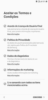 Samsung Galaxy J8 - Primeiros passos - Como ativar seu aparelho - Etapa 8