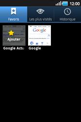 Samsung S5660 Galaxy Gio - Internet - navigation sur Internet - Étape 8