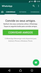 Sony Xperia XZ - Android Nougat - Aplicações - Como configurar o WhatsApp -  14