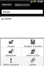 HTC A510e Wildfire S - E-mail - envoyer un e-mail - Étape 8