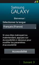 Samsung Galaxy Ace 3 - Premiers pas - Créer un compte - Étape 2