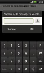 HTC T320e One V - Messagerie vocale - Configuration manuelle - Étape 7